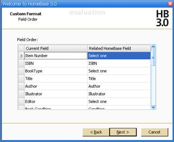 Import Wizard - Custom Format Field Order